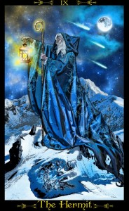 The Hermit (Tarot Illuminati)