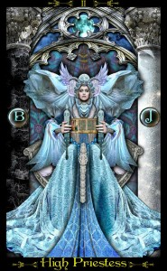 The High Priestess (Tarot Illuminati)