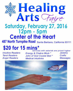 Healing Arts Faire - Winter 2016 2